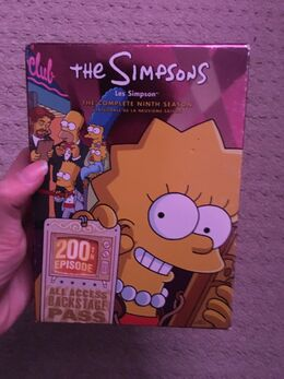 The Simpsons Season 9 DVD Bilingual