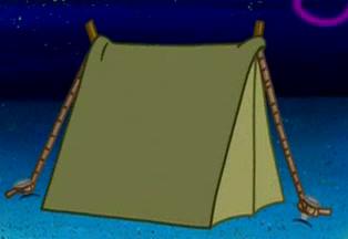 Self-assembling tent & Self-assembling tent | Encyclopedia SpongeBobia | FANDOM powered ...