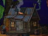 Alligators' shack