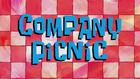 Company Picnic Title Card