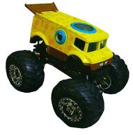 Hot Wheels SpongeBob Monster Truck loose