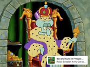 Squidward listens to second suite in F