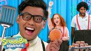 KRABBY PATTY Flipping Challenge + MORE SpongeBob Trivia - SpongeBob SmartyPants Ep