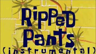 SpongeBob SquarePants Ripped Pants instrumental