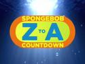 SpongeBob Z to A Countdown