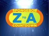 SpongeBob Z-A Countdown