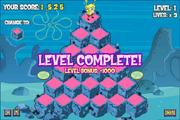 Pyramid Peril - Level Complete!