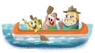 SpongeBob-Kamp-Koral-main-character-designs