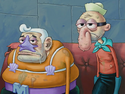 Mermaid Man vs. SpongeBob 052