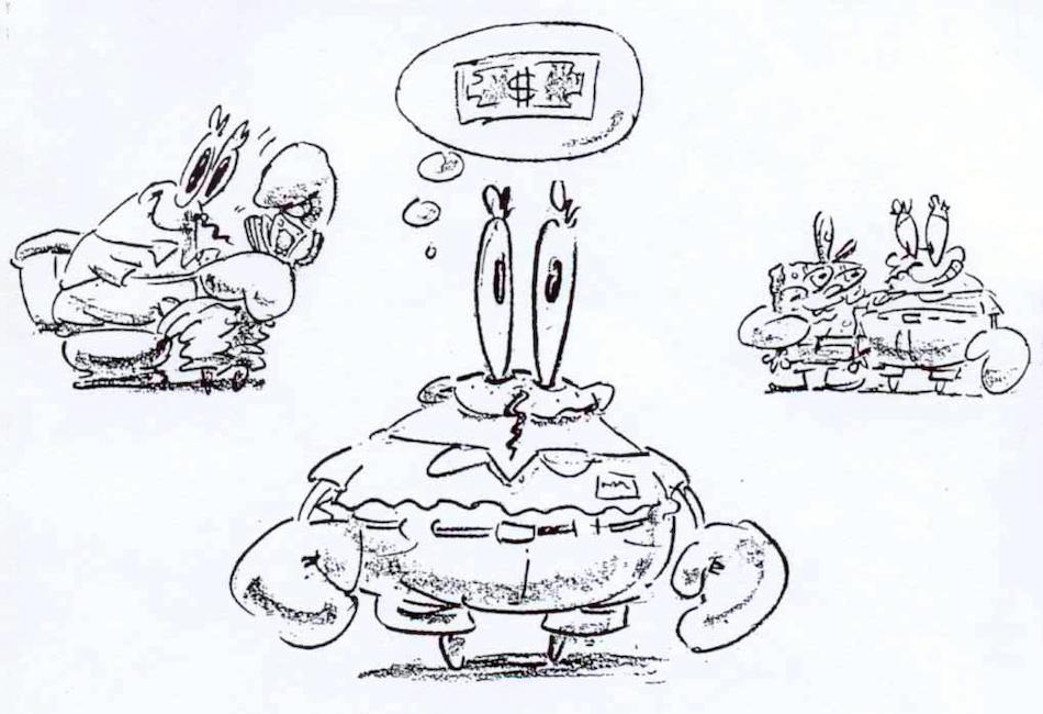 eugene h krabs encyclopedia spongebobia fandom