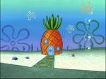 SpongeBob's pineapple house in Season 4-9