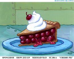 Mermaid Man and Barnacle Boy Cherry Pie