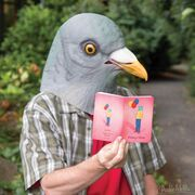 Strange Friends Notebooks pigeon-man 800x