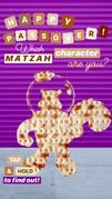 Nickelodeon's Instagram story - Passover matzah character - Sandy