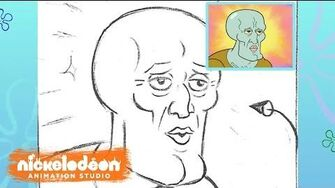 """The 2 Faces of Squidward"" Animatic SpongeBob SquarePants Nick Animation"