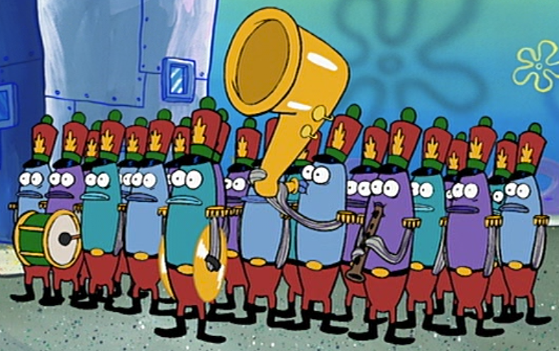 Marching Band Encyclopedia Spongebobia Fandom Powered By Wikia Pants Black