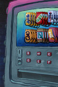 Kandy Machine close-up background art