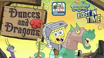 SpongeBob SquarePants Lost In Time - Dunces and Dragons (Nickelodeon Games)