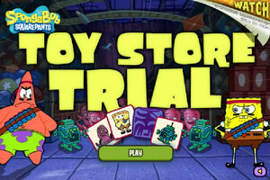 Toy Store Trial