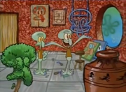 Squidward the Unfriendly Ghost 005