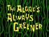The Algae's Always Greener title card