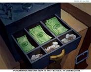 Nasty Patty cash register art
