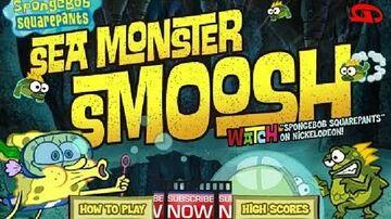 SpongeBob SquarePants - Sea Monster Smoosh