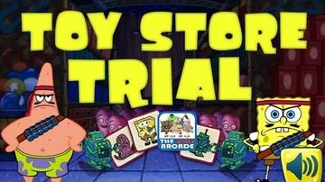 SpongeBob SquarePants Toy Store Trial - Match Me If You Can (Nickelodeon Games)