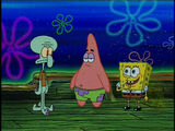 Shanghaied: Squidward's ending