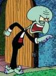 Squidward Wearing Fancy Clothes2
