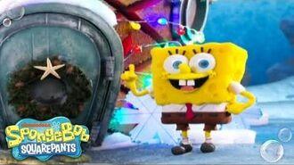 'Santa Has His Eye On Me' Music Video 🎄 SpongeBob