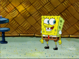SpongeBob's shirt mistake in Picture Day