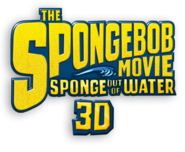 The SpongeBob Movie - Sponge Out of Water English logo