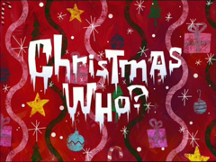 Christmas Who title card