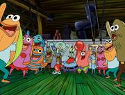 Sandy, SpongeBob, and the Worm 076