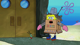 Plankton Gets the Boot 102