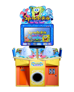 SpongeBob SquarePants Hit the Beat arcade game
