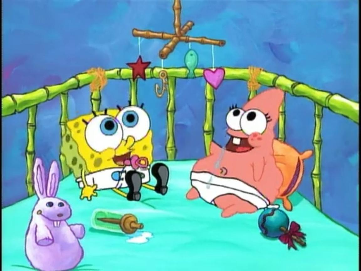 Image  Baby Spongebob  Baby Patrickjpg  Encyclopedia