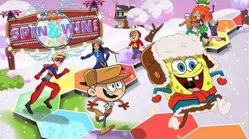Nickelodeon Winter Spin & Win