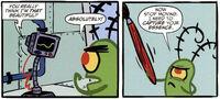 SpongeBob SquarePants Karen and Plankton Comic