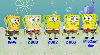 Image - Spongebob squarepants through the years by animationcrave ...