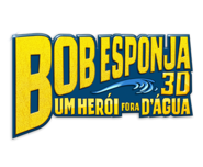 The SpongeBob Movie - Sponge Out of Water Brazilian logo