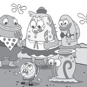 Mrs-Puff-Gary-with-Patty-SpongeBob
