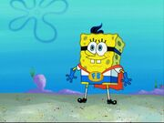 Spongebob As Fry Boy