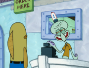 The Two Faces of Squidward 007