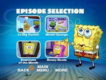 SpongeBob, You're Fired! DVD episode selection screen 2