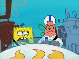 Patrick's eyelid mistake