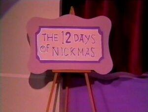 12 Days of Nickmas