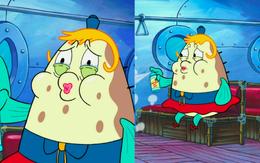 Mrs. Puff's white eyelids mistake in Nautical Novice-2
