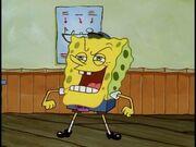 Spongebob As The Hall Monitor